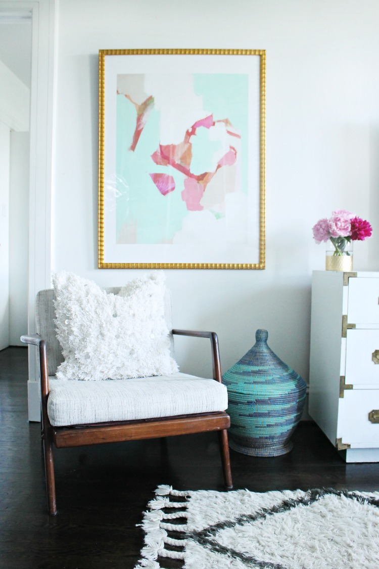Summer home tour 2016 shannon claire for Burlap and lace bedroom